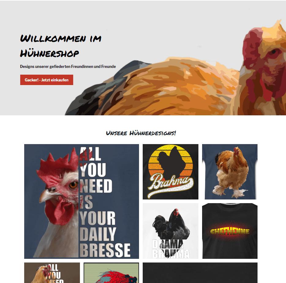 Hühner T-Shirts